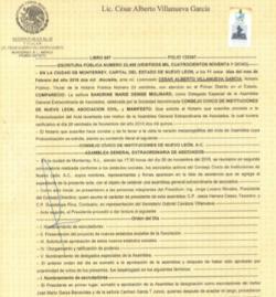 Estatutos Noviembre 2015